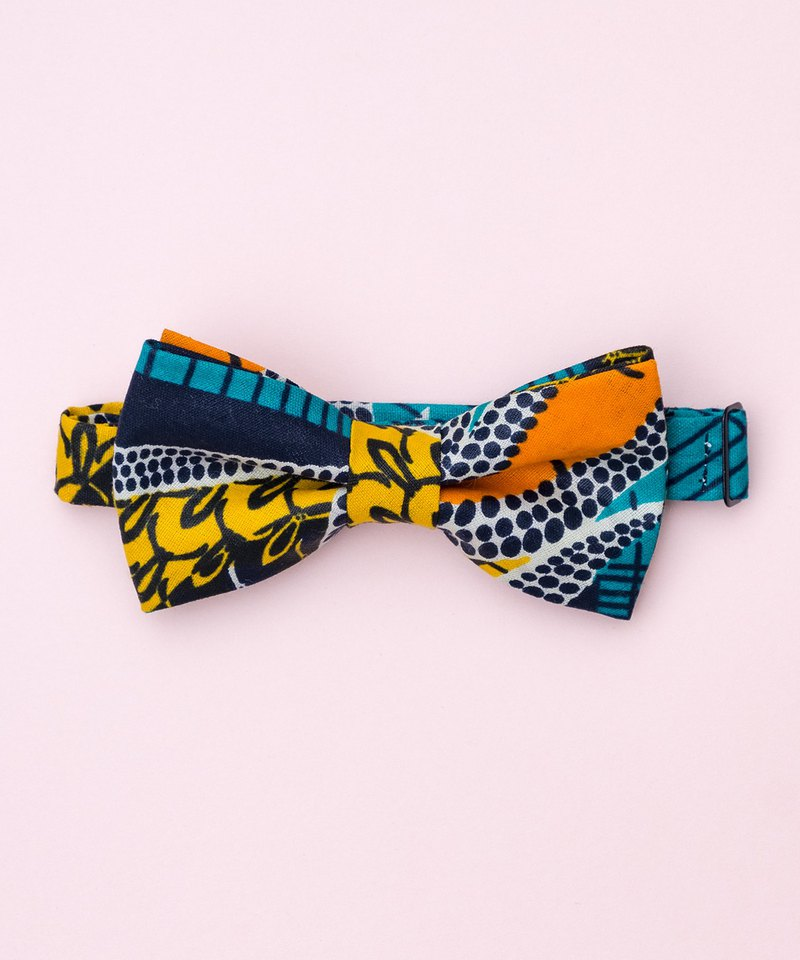 WEST COAST AFRICAN WAX BOW TIE
