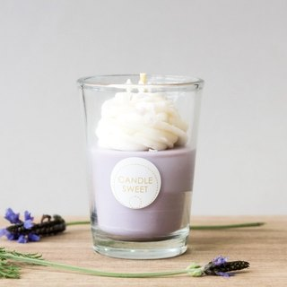 Dessert Candle - Blueberry Mousse - 120ml Blueberry Mousse - Dessert Natural Oil Soy Candle