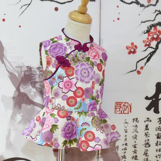 Handmade cheongsam modified top