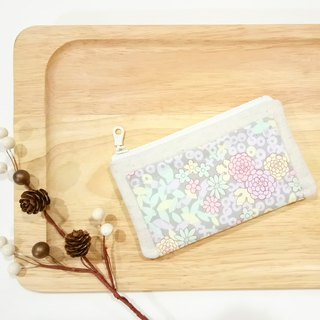 [FXS/ Four Degree Space Coin Purse] Irome. Gray Purple