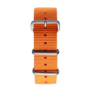 Plantwear Green NATO Strap - Vibrant Orange