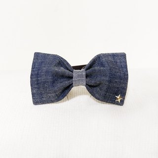 Ella Wang Design Bowtie Pet Bowknot Cats & Dogs Cowboy Tannins (Dark)