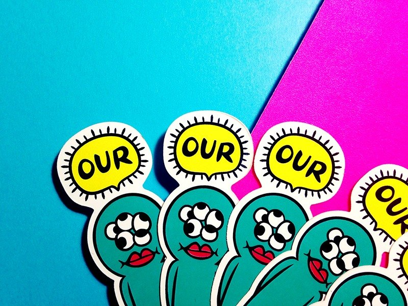 OUR!! // sticker