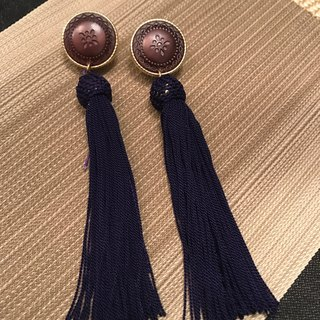 Retro tassel earrings