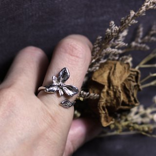 Mori. Open 925 silver ring