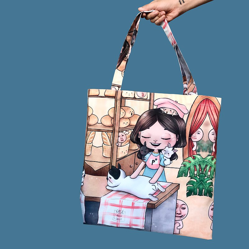 ( pre - order ) TOTE BAG :: let s guess. where am i ? // no.2