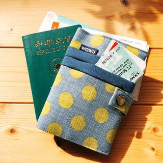 Passport Case (gray) / Passport Cover / Passport Holder