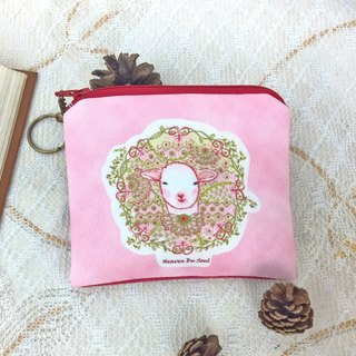 <Animals in the Secret Land> Proud Sheep coin purses (small size)