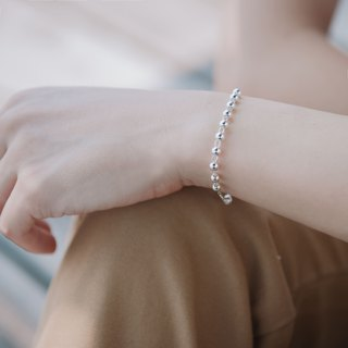 Happy report - sterling silver bracelet