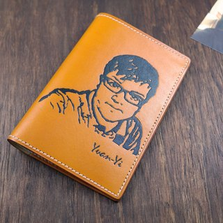 APEE leather hand ~ extension like passport folder ~ Ming Huang