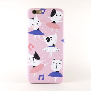 Ballerina Cat iPhone case