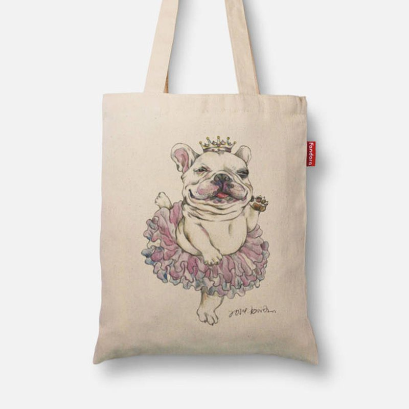 Princess law fighting canvas bag
