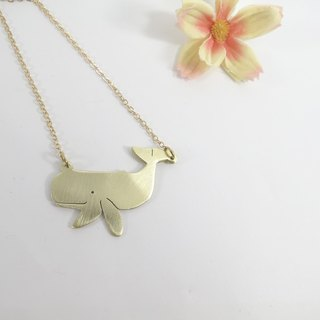 Whale Necklace from WABY