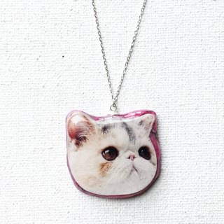 Happy Kitten Jojo Stardust 925 Silver Handmade Necklace
