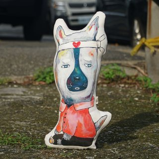 Wandering pillow X sit series * LOVE DOG
