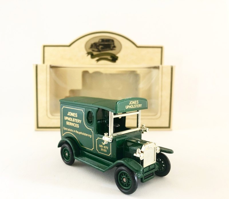 British-made early dark green interior trim T-car (including original box) (Pinkoi limited) (J)