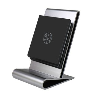 HOMI CoreStand QI Vertical Mobile Phone Detachable Wireless Charging Stand - Grey (Supports iPhone X/8/8Plus Wireless Charging for Direct Use)