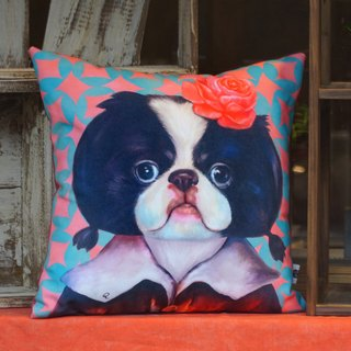 Japanese Chin gorgeous section | Mr.Q pillow