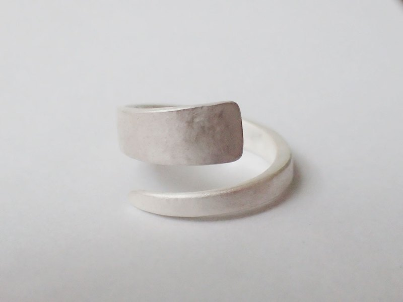 Lightup workshop - forging ring, 999-Fine silver