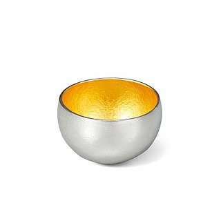 Pure tin gold foil swaying cup (XS)