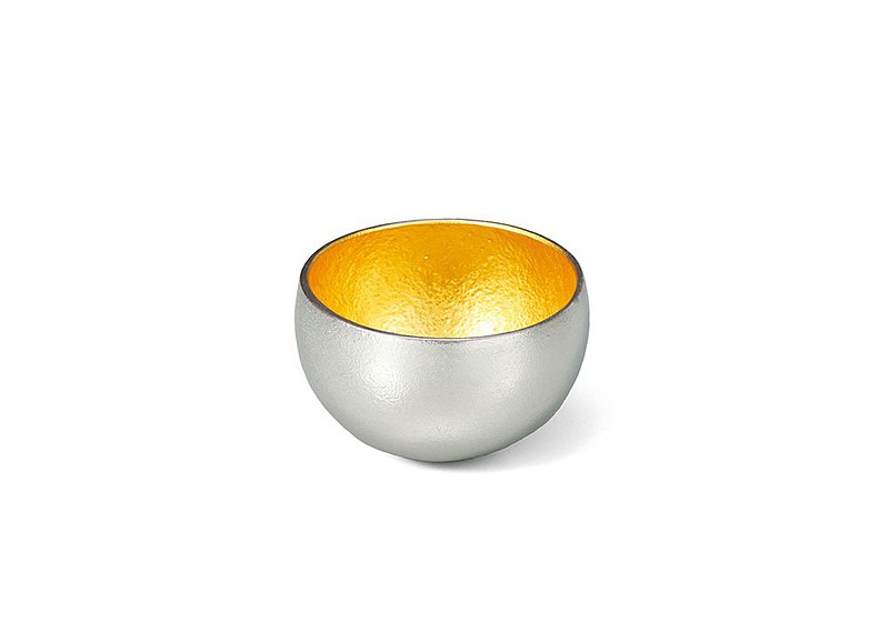 Gold foil round swaying cup-XS