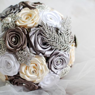 [] Elegant retro lines - immortalized flowers / dried flowers / bouquet jewelry / wedding bouquets bouquet / Flowers & Gifts