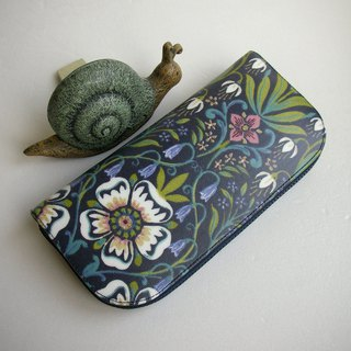 "English tarps ""Midsummer Night Flowers"" - Long Clips / Wallets / Coin Purses / Gifts"