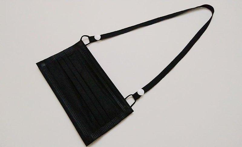 口罩鍊 口罩繩 防疫小物 素色棉織帶  優惠組3條250元