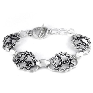 Customized .925 sterling silver jewelry designer BRD00004- Featured Bracelet