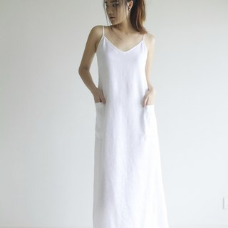Made to order linen dress / linen clothing / long dress / casual dress E22D