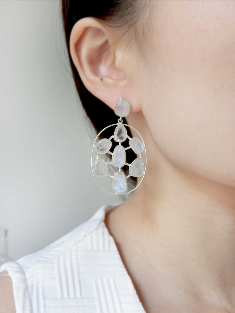 【UFO moonlight】 earrings
