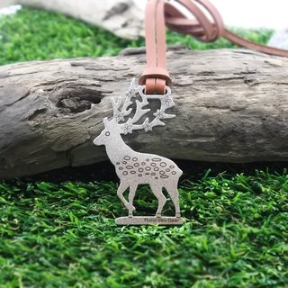 [Desk + 1] Keychain Charm - flower deer now