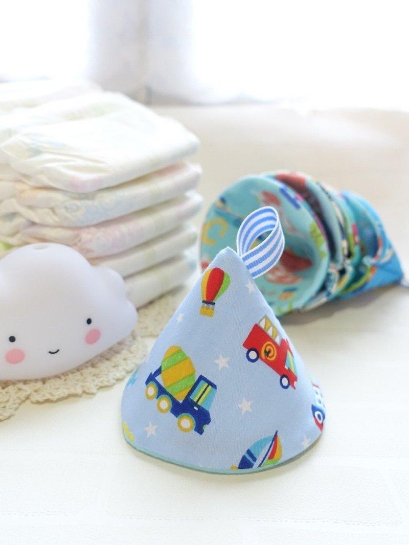 新手媽媽恩物 - 男寶寶專用換片防尿隔尿保護套 繽紛車隊