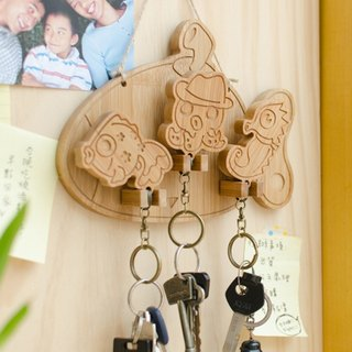 【Christmas Gifts】 Underwater Adventure // Keychain Hanging Key Holder Keychain home waiting for you to go home for dinner