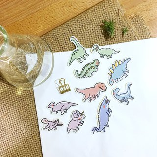 Dinosaur Research Center // Large Dinosaur Sticker Pack 10