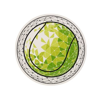 Tennis Ball Water Absorbent Coaster