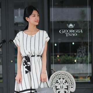 GT arrow-shaped stripe strap umbrella