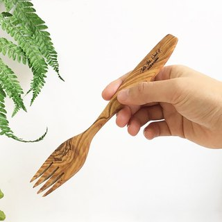 Olive wood CLASSIC Cutlery - Fork