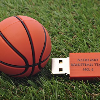 Basketball modeling pen drive 16GB + single-sided printing