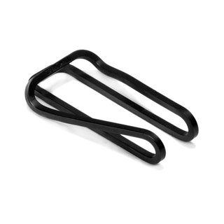 Square Money Clip - Carbon Black Black Money Clip - Craighill