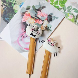 [Magnet bookmark pen] happy and full of multi-functional hand-made cats and cats wedding gifts can be customized features