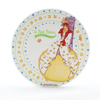 The Little Prince Classic authorization - water coaster: [King] lonely (round / square)