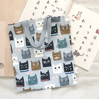 Simple tote bag/shopping bag  -   Cats