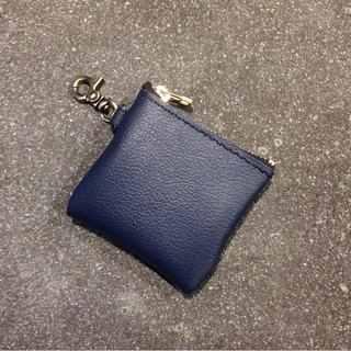 Small storage bag, navy blue headset, change carry bag