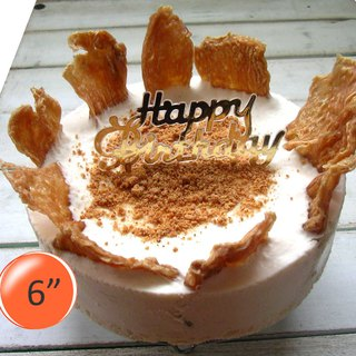 [Chicken Tiles] Dog Mousse Birthday Cake-6吋
