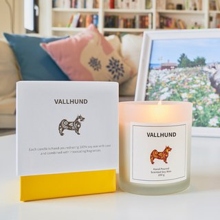 Swedish Design 200g NYÅR Soy Wax Candle (2018) - Woody Note