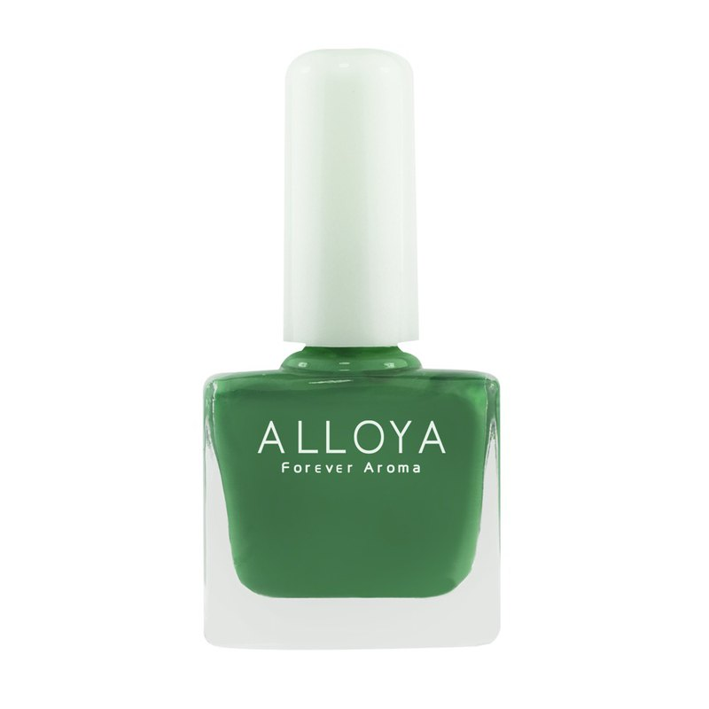 Water-based non-toxic finger color 128 fashion wild green / long-lasting + quick-drying