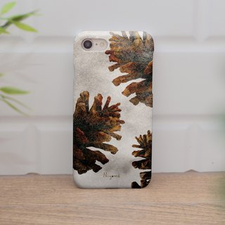 shimmer Pine cones iphone case สำหรับ iphone7 iphone 8, iphone 8 plus ,iphone x