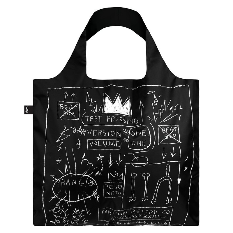 LOQI Shopping Bag - Museum Series (Bathia - Crown JBCR)