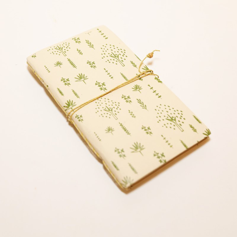 Summer Tree Notebook - Fair Trade